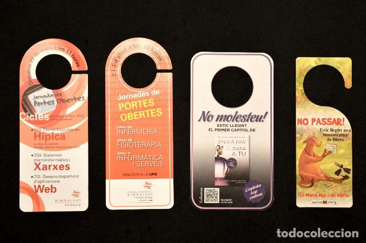 Carteles: LOTE 24 CARTELES PUBLICITARIOS CARTEL NO MOLESTAR ESTOY LEYENDO - Foto 2 - 160651566