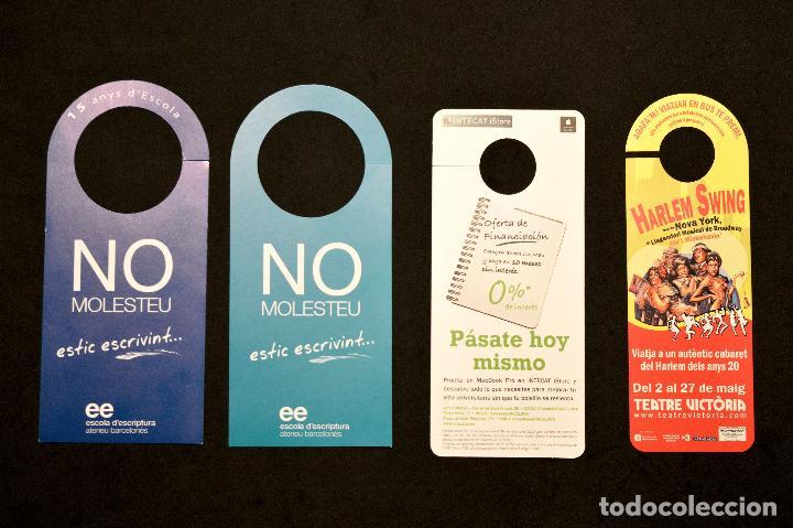 Carteles: LOTE 24 CARTELES PUBLICITARIOS CARTEL NO MOLESTAR ESTOY LEYENDO - Foto 3 - 160651566