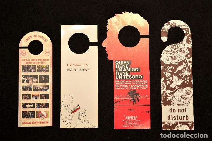 Carteles: LOTE 24 CARTELES PUBLICITARIOS CARTEL NO MOLESTAR ESTOY LEYENDO - Foto 5 - 160651566