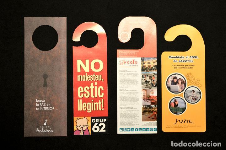 Carteles: LOTE 24 CARTELES PUBLICITARIOS CARTEL NO MOLESTAR ESTOY LEYENDO - Foto 8 - 160651566