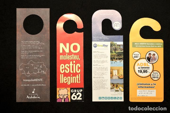 Carteles: LOTE 24 CARTELES PUBLICITARIOS CARTEL NO MOLESTAR ESTOY LEYENDO - Foto 9 - 160651566
