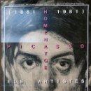 Carteles: CARTEL:1891-1981 HOMENATGE A PICASSO. ELS ARTISTES CATALANS D'ARA - AUTOR:A PARTIR DE PICASSO. Lote 160763706