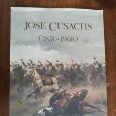 Carteles: CARTEL EXPOSICION JOSE CUSACHS. Lote 162352422