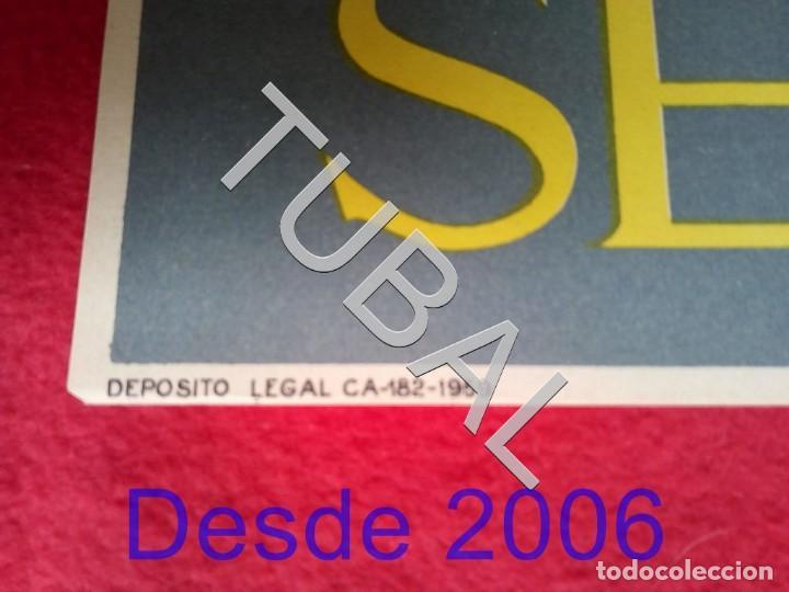 Carteles: TUBAL CARTEL FERIA SEVILLA 1960 POR MARTIN CARTAYA 100% ORIGINAL C4 - Foto 2 - 163408798