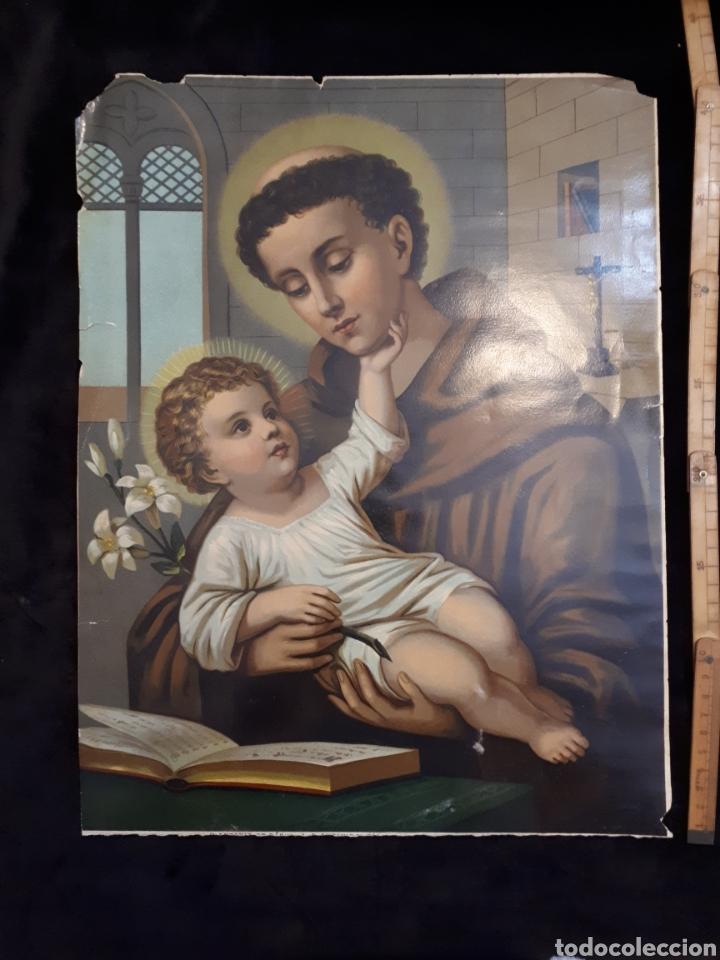 POSTER CARTEL SAN ANTONIO DE PADUA (Coleccionismo - Carteles Gran Formato - Carteles Varios)