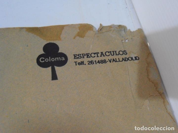 Carteles: CARTEL PROMOCIONAL, CONJUNTO MUSICO VOCAL, ANGULO 80, VALLADOLID AÑOS 70, COLOMA ESPECTACULOS, UNICO - Foto 4 - 164611030