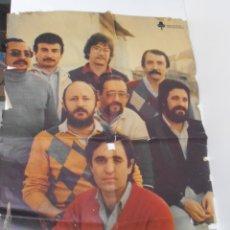 Plakate - CARTEL PROMOCIONAL, CONJUNTO MUSICO VOCAL, ANGULO 80, VALLADOLID AÑOS 70, COLOMA ESPECTACULOS, UNICO - 164611030