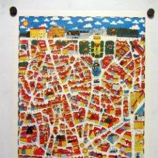 Cartazes: SOL Y PALACIO (MADRID) ILUSTRADOBY RICARDO CAVOLO 43X63. Lote 239446170