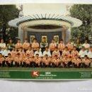 Carteles: ATHLETIC CLUB TEMPORADA 1992/93 CARTEL OFICIAL 49X69CMS.. Lote 165168178