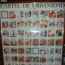 Carteles: CARTEL DE URBANIDAD.DJOS.R.OPISSO.. Lote 165831222