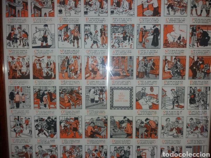 Carteles: cartel de urbanidad.Djos.R.Opisso. - Foto 7 - 165831222
