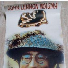 Carteles: CARTEL * JOHN LENNON IMAGINA , DONEU UNA OPORTUNITAT A LA PAU * BOSNIA T'HO DEMANA - SABADELL 1995. Lote 167728128