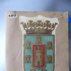 Carteles: PRECIOSOS ESCUDOS LITOGRAFICOS DE BUJALANCE, CORDOBA Y SORIA, AÑOS 1890-1900. Lote 169290496