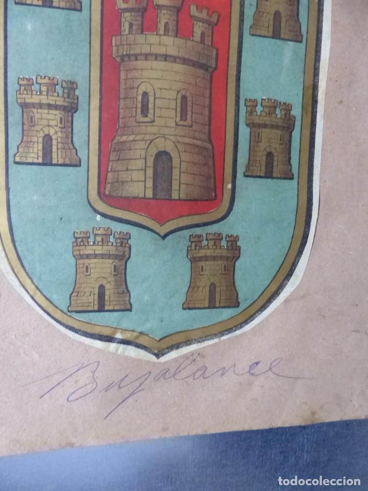 Carteles: PRECIOSOS Escudos Litograficos de BUJALANCE, CORDOBA y SORIA, años 1890-1900 - Foto 2 - 169290496