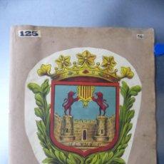 Carteles: PRECIOSOS ESCUDOS LITOGRAFICOS DE VILAFRANCA DEL PANADES, BARCELONA Y OCAÑA, TOLEDO, AÑOS 1890-1900. Lote 169291176