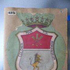 Carteles: PRECIOSOS ESCUDOS LITOGRAFICOS DE MARCHENA, SEVILLA Y ARCOS DE LA FRONTERA, CADIZ, AÑOS 1890-1900. Lote 169294884
