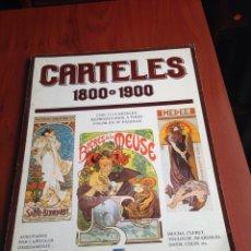 Carteles: LIBRO CARTELES 1800 1900. Lote 170209833