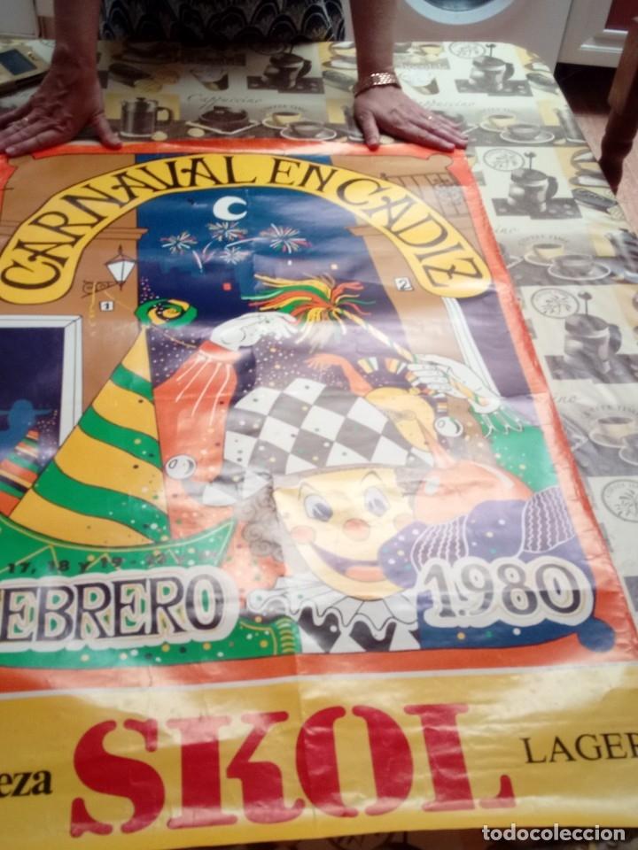 CARTEL. CARNAVAL DE CADIZ 198095,5 X 62. EST3B6.B (Coleccionismo - Carteles Gran Formato - Carteles Varios)