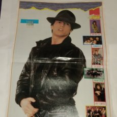 Carteles: POSTER TOM CRUISE - DURAN DURAN. SUPER POP. GRAN FORMATO. Lote 173063170