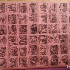Carteles: HISTORIA DE UN MICO ENREDADOR, CURIOSA ALELUYA DECIMONÓNICA EN CASTELLANO IDEAL PARA ENMARCAR. Lote 174574215