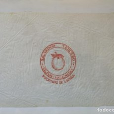 Carteles: PAPEL DE SEDA ENVOLVER NARANJAS. SALVADOR TERCERO. OLIVA.. Lote 175344632