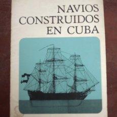 Carteles: NAVIOS CONSTRUIDOS EN CUBA. CARPETA CON 6 LAMINAS DE BARCOS. EN COLOR. 45 X 60CM. VER . Lote 177371042