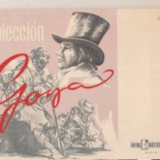 Affissi: CARPETA COLECCIÓN GOYA - LABORATORIOS INFAR NATTERMANN SERIE 8º ZARAGOZA - 12 LÁMINAS. Lote 177386427