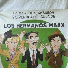 Carteles: SOPA DE GANSO - LOS HERMANOS MARX (ORIGINAL)100CM X 70CM. Lote 190172498