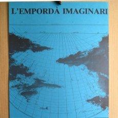 Carteles: JAUME GENOVART LLOPIS (BARCELONA 1941-1994) · L'EMPORDÀ IMAGINARI. GALERÍA MASSANET, FIGUERES, 1987. Lote 177839718