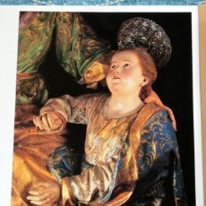 Carteles: CARPETA III CENTENARIO 1707 - 2007. SALZILLO. ESCULTOR. LÁMINAS. FOTOGRAFÍAS DE CARLOS MOISÉS. Lote 177846722