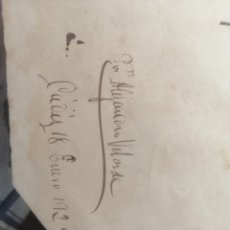 Carteles: CARTEL PIEZA ÚNICA RARISIMA.. Lote 179159467
