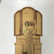 Carteles: CARTEL DE CARTON TROQUELADO MODERNISTA. . Lote 179224348