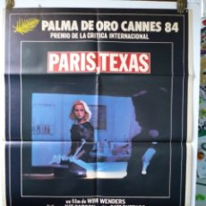 Carteles: PARIS-TEXAS. WIM WENDERS. CARTEL ORIGINAL. 1984.. Lote 181032623