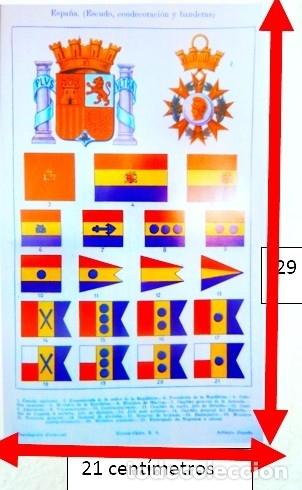 BANDERAS DE ESPAÑA DE 1935 (Coleccionismo - Carteles Gran Formato - Carteles Varios)