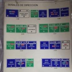 Affissi: SEÑALES DE IDENTIFICACIÓN DE CARRETERAS.. Lote 182114902