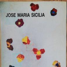 Carteles: JOSÉ MARÍA SICILIA - GALERÍA MAIOR, POLLENÇA - AÑO 1997. Lote 182912760