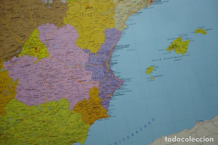 Carteles: MAPA ESPAÑA, EL ESTADO AUTONÓMICO EDITADO EN 1995 - Foto 5 - 183369297