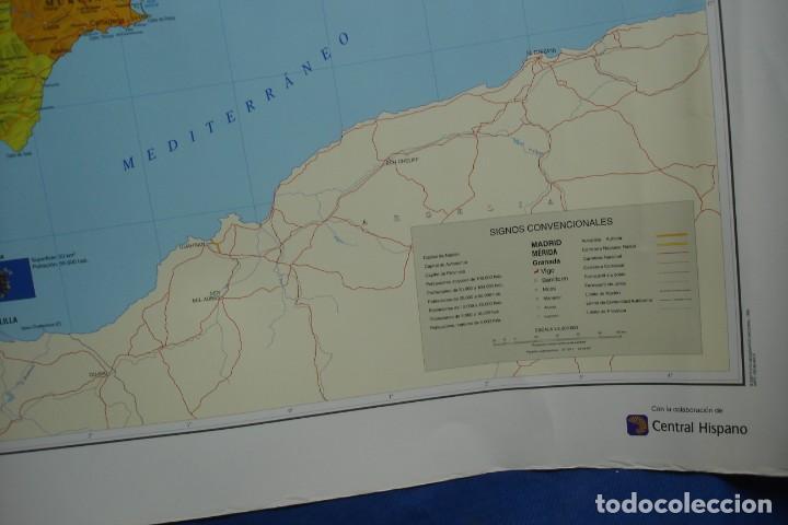 Carteles: MAPA ESPAÑA, EL ESTADO AUTONÓMICO EDITADO EN 1995 - Foto 6 - 183369297