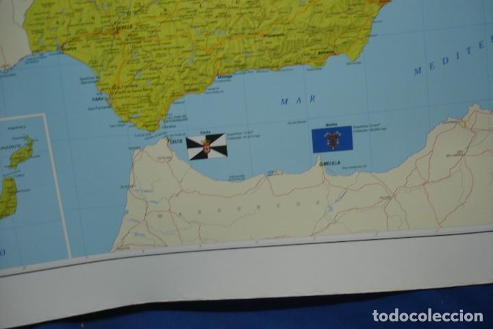 Carteles: MAPA ESPAÑA, EL ESTADO AUTONÓMICO EDITADO EN 1995 - Foto 7 - 183369297