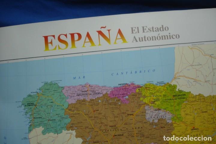 Carteles: MAPA ESPAÑA, EL ESTADO AUTONÓMICO EDITADO EN 1995 - Foto 8 - 183369297
