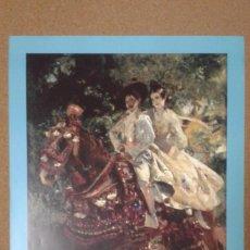 Carteles: CARTEL EXPOSICIÓN PINTOR JOAQUÍN SOROLLA, MUSEO BELLAS ARTES VALENCIA, 1997, GRUPA VALENCIANA. Lote 186157703