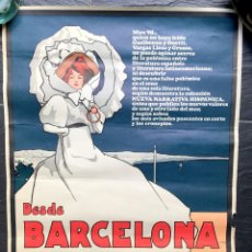Carteles: CARTEL PÓSTER NUEVA NARRATIVA HISPÁNICA - BARRAL - 1969 - BOOM - 63X46CM - BARCELONA - AFFICHE 1906. Lote 187223952