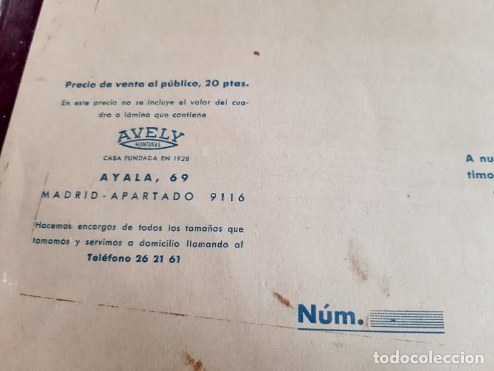 Carteles: 1957 CARTEL RECORDATORIO FAMILIAR DE MATRIMONIO AVELY ORLAS MADRID 28.5.X 41.5.CM - Foto 7 - 188396487