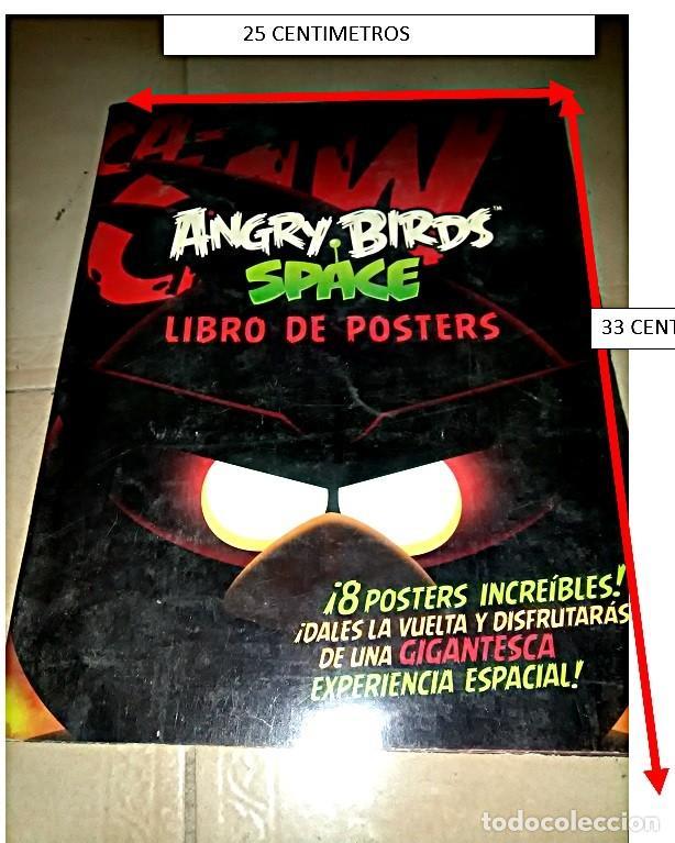 CANGRY BIRDS SPACE, LIBRO DE POSTERS. (Coleccionismo - Carteles Gran Formato - Carteles Varios)