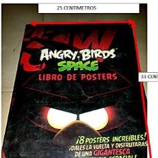 Carteles: CANGRY BIRDS SPACE, LIBRO DE POSTERS.. Lote 189262006
