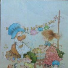 Affissi: CARTEL-POSTER BUSQUETS INFANTIL-JUVENIL, AÑOS 70-80. Lote 189516802