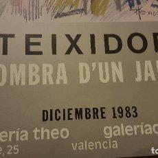 Carteles: TEIXIDOR 1983. Lote 189777922
