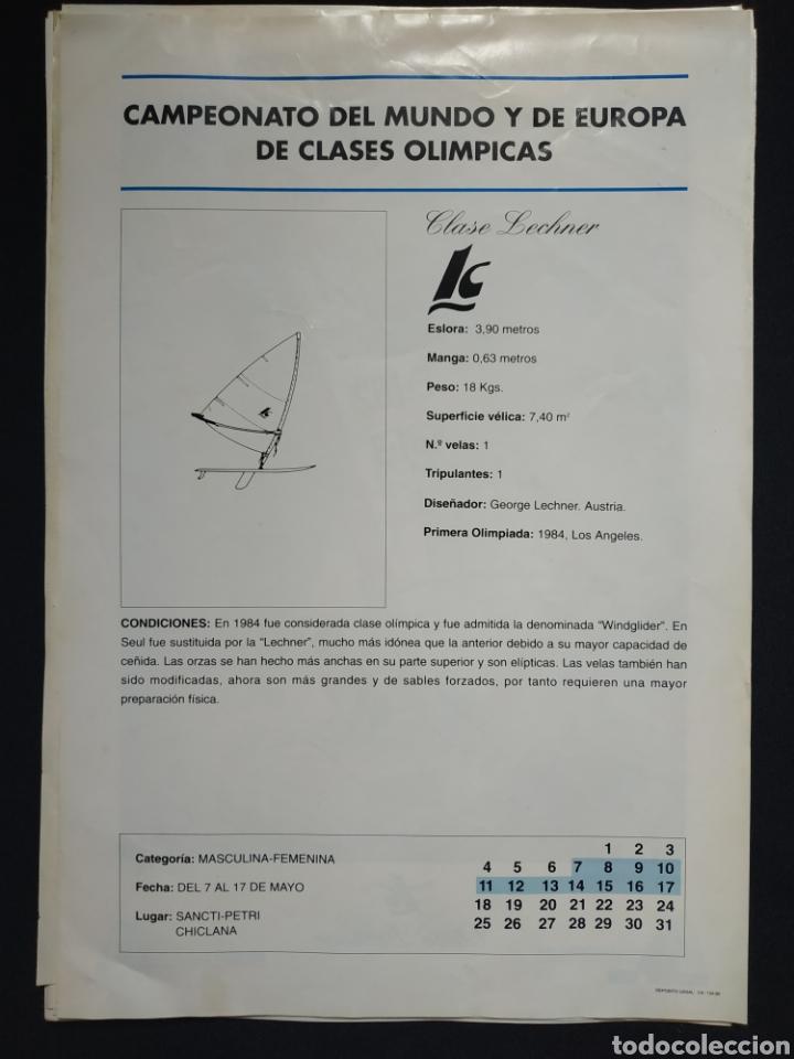 Carteles: Cartel Mundo Vela 92 - Foto 2 - 190856921