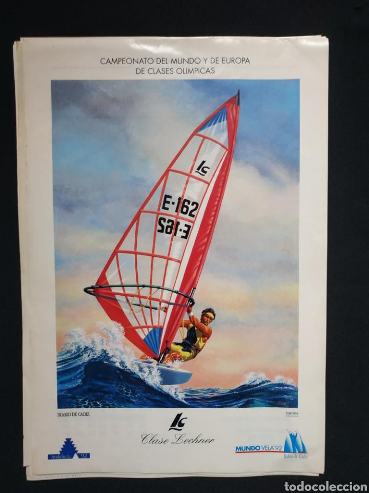 CARTEL MUNDO VELA '92 (Coleccionismo - Carteles Gran Formato - Carteles Varios)