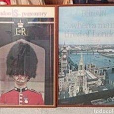 Carteles: POSTERS 2 DE LONDRES. Lote 191136826